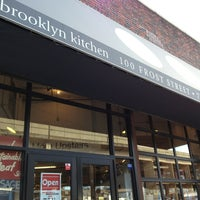 Photo taken at The Brooklyn Kitchen by AndresT5 on 1/31/2013