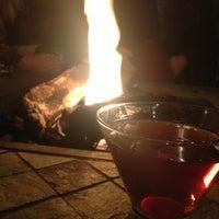 Photo taken at Devines Restaurant & Sports Bar by Karen K. on 2/28/2013