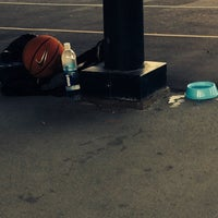 Photo taken at Berry Basketball Courts by Blanca V. on 7/13/2014
