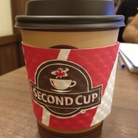 Photo taken at Second Cup by Dalia R. on 10/16/2012