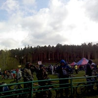"Photo taken at Лыжная База МУП СОК ""Калининец"" by Anastasia M. on 5/18/2013"