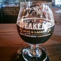 Photo taken at Speakeasy Ales & Lagers by Brian D. on 7/21/2013