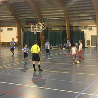 Photo taken at Sporthal Koersel by Jill V. on 2/5/2017