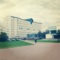 Photo taken at State University of Management by Svetlana T. on 10/15/2012