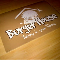 Photo taken at Burger house by Salma S. on 5/9/2013