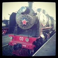 Снимок сделан в Центральный музей Октябрьской железной дороги пользователем Anna B. 10/7/2012