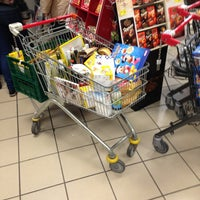 Photo taken at REWE by Florian Z. on 12/31/2012