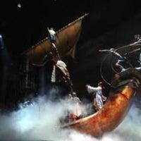 Photo taken at KÀ Theatre by Thiago C. on 12/30/2012