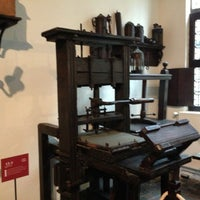 Photo taken at Museum Plantin-Moretus | Prentenkabinet by Charles C. on 12/19/2012