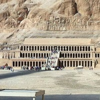 Photo taken at Mortuary Temple of Hatshepsut by Michael S. on 11/16/2012