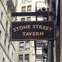 Photo taken at Stone Street Tavern by Sergey M. on 4/19/2013