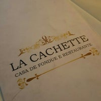 Photo taken at La Cachette by Fábio P. on 7/10/2016