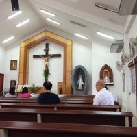 Photo taken at Chapel Of Mother Mary by Steph J. on 4/13/2014