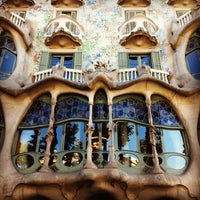 Photo taken at Casa Batlló by Gil G. on 7/6/2013