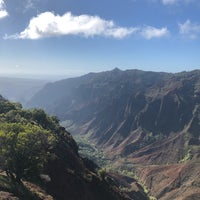 Photo taken at Halemanu Cliff Trail Lookout by Natalie G. on 2/8/2018