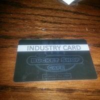 Photo taken at Bucket Shop Café by Shivon on 1/25/2013