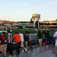 Photo taken at NY Cosmos at Shuart Stadium by Eric R. on 6/15/2014