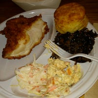 Photo taken at Carla Hall's Southern Chicken by Cody M. on 2/22/2017
