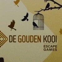 Photo taken at De Gouden Kooi - Escape games by Jelena V. on 6/18/2017