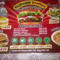 Photo taken at Burger Station by Aliza R. on 11/20/2014