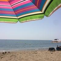 Photo taken at Playa Luna Beach by Anton C. on 9/6/2016