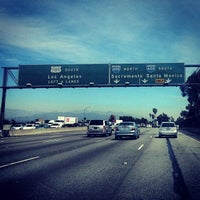 Photo taken at US-101 / I-405 Interchange by Geoff S. on 4/10/2014