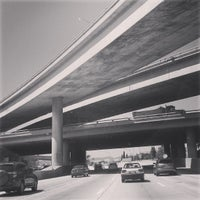 Photo taken at US-101 / I-405 Interchange by Geoff S. on 8/22/2013