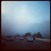 Photo taken at I-405 / Getty Center Dr by Geoff S. on 11/8/2012