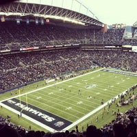 Photo taken at CenturyLink Field by Leif J. on 12/30/2012