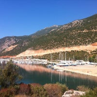 10/16/2012 tarihinde Edaziyaretçi tarafından Kaş Limanı'de çekilen fotoğraf