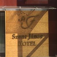 Photo taken at Szent János Hotel by Shirley-Kristi V. on 8/23/2017