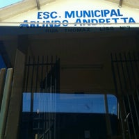 Photo taken at Escola Municipal Arlindo Andretta by Tony S. on 5/7/2013
