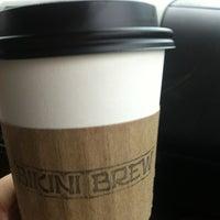 Photo taken at Bikini Brew Coffee by Tim B. on 3/26/2013