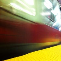 Photo taken at MBTA Red Line by Richard H. on 10/30/2013