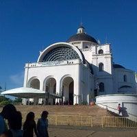 Photo taken at Santuario de la Virgen de Caacupé by Ana Maureen N. on 1/4/2013