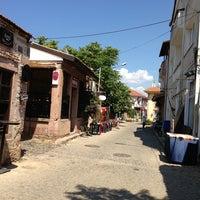 Photo taken at Cunda Sahil Çarşısı by İlayda İ. on 6/17/2013