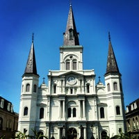 Photo taken at St. Louis Cathedral by Alix P. on 3/29/2013