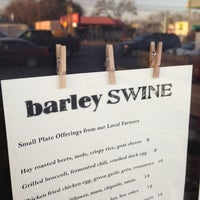 Photo taken at Barley Swine by David A. on 3/6/2013