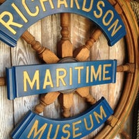 Photo taken at Richardson Maritime Museum by Wendy on 9/19/2012