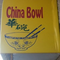 Photo taken at China Bowl Restaurant by Louis W. on 3/10/2013
