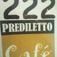 Photo taken at Prediletto Café by Edi R. on 12/9/2012