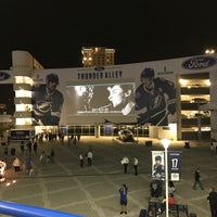 Photo taken at Ford Thunder Alley - West Plaza, Tampa Bay Times Forum by Anuwat A. on 3/27/2017