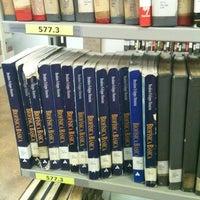 Photo taken at Biblioteca Central Prof. Alpheu da Veiga Jardim (BC) by Lorena G. on 11/30/2012