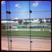 Photo taken at New Orleans Fairgrounds by Tiffany S. on 10/4/2012