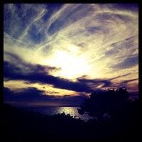 Photo taken at Saronida Beach by EleniTsa ℳ. on 10/30/2012