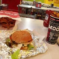 Photo taken at MOOYAH Burgers, Fries & Shakes by Jordan S. on 11/16/2012