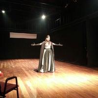Photo taken at Teatro Universitário Cláudio Barradas by Franci F. on 11/25/2012