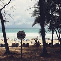 Photo taken at Kata Beach by kvnnwx on 5/25/2013