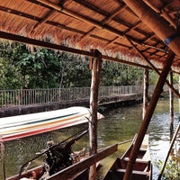 Photo taken at Taling Chan Floating Market by Joanne A. on 2/9/2014