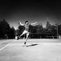 Photo taken at Atakoy Tenis Kortlari by Muhammed K. on 1/18/2017